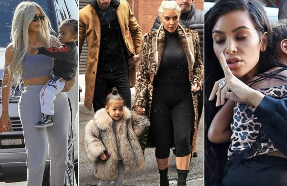 15 Images That Show How Kim And Kanye Like To Spoil Their Kids
