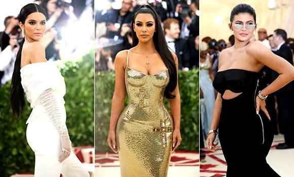 Kim, Kylie & Kendall Basically Just Filmed The Season 16 Opener for 'KUWTK' At The Met Gala & It's Hot AF