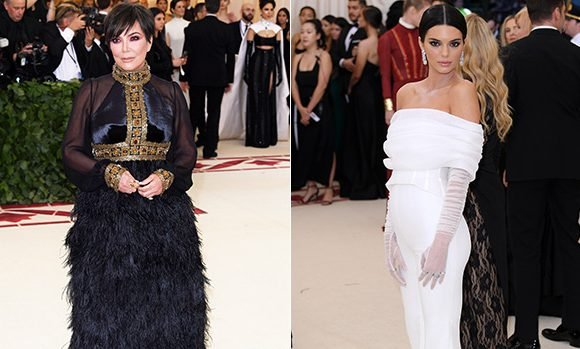 Kris Jenner Tried Fixing Kendall's Met Gala Outfit & She Yelled 'Stop' — Wardrobe Malfunction?