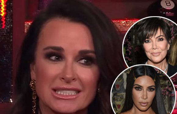 Kyle Richards Spills on 'Out of Control' Night With Kim Kardashian and Kris Jenner
