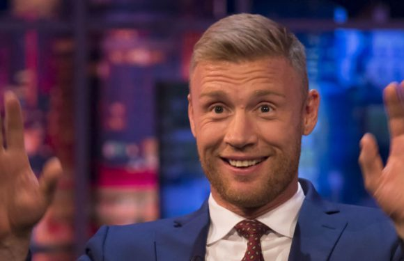 Freddie Flintoff kicked out of cafe after accidentally exposing his penis