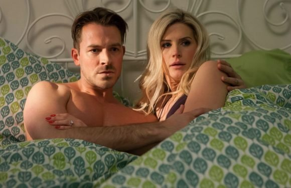 Hollyoaks could expose Mandy and Darren's affair secret after they are overheard
