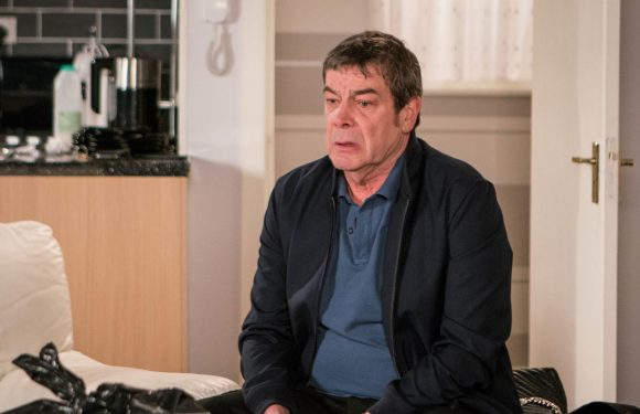 Coronation Street viewers fear for Johnny as he takes his grief out on Jenny