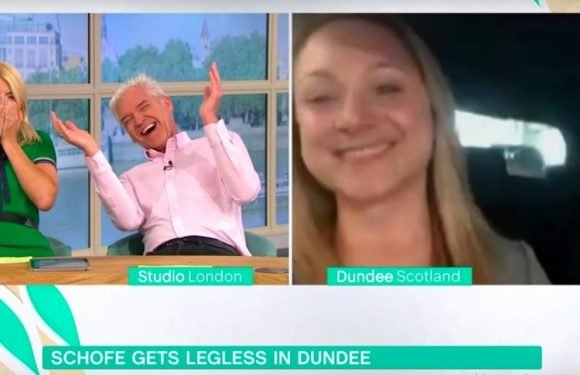 Phillip Schofield superfan leaves This Morning hosts in hysterics over TENA Lady joke
