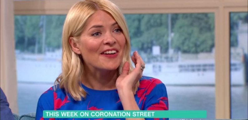 Holly Willoughby is getting very nervous about her Coronation Street cameo