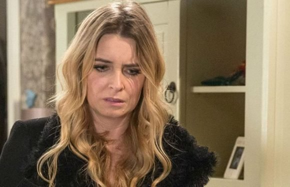 Emmerdale star Emma Atkins reacts to Charity Dingle's son twist