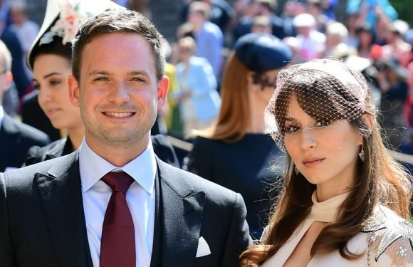 Meghan Markle's Suits husband Patrick J Adams criticised for shaming sleeping woman after royal wedding