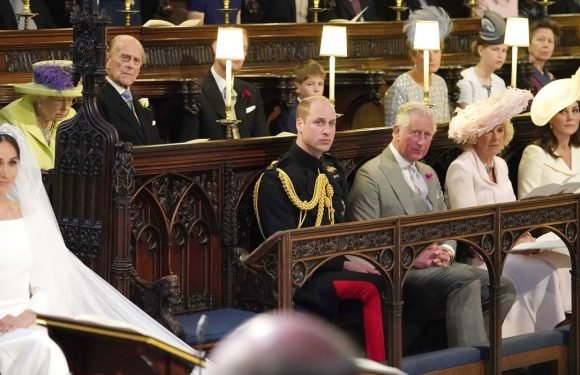 That empty seat at the royal wedding wasn't for Princess Diana