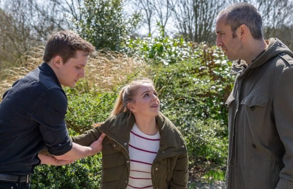 Emmerdale exposes Belle Dingle's pregnancy tonight after an argument goes wrong