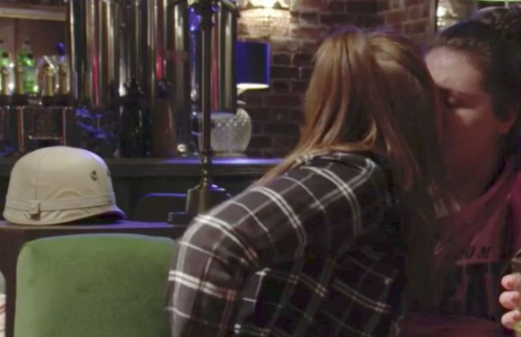 Is EastEnders' Bernadette Taylor questioning her feelings for Tiffany Butcher after their kiss?
