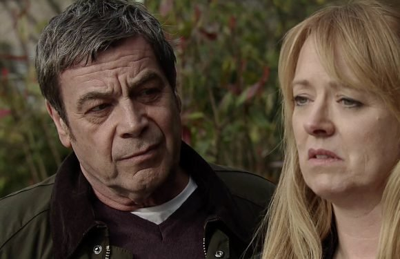 Coronation Street's Johnny and Jenny Connor face marriage trouble after Aidan's suicide