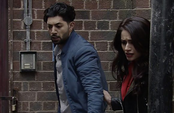 Coronation Street fans relieved as Zeedan comes to Kate and Rana's rescue