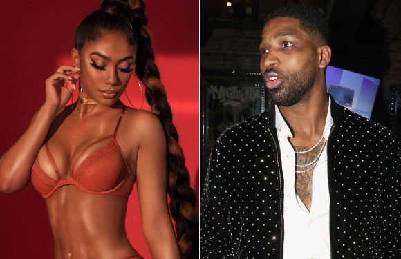 Tristan Thompson's side chick now hosting parties