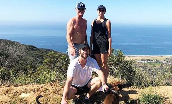 Liam Hemsworth Fans Are In Awe Of His Hot Dad After Actor Posts Hiking Pic: 'Ridiculous Genes'