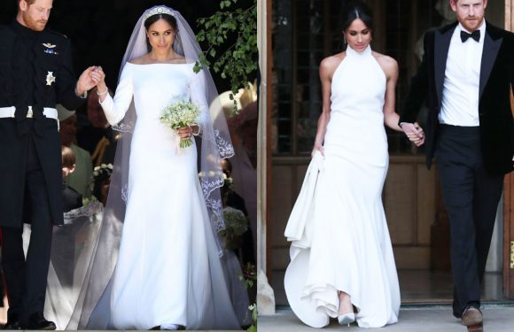 Which of Meghan Markle's Wedding Dresses Did You Like Better?