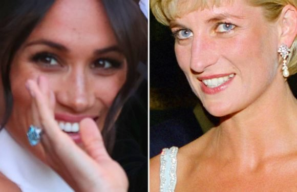 Princess Diana's Jewelry Worn by Kate Middleton, Meghan Markle: Pics