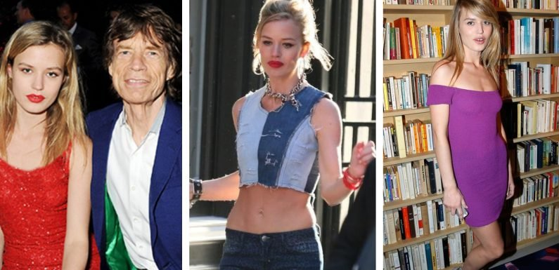 20 Things Mick Jagger Doesn't Want To Let Slip About Daughter Georgia May Jagger