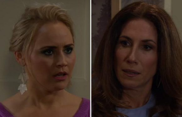 Emmerdale fans spot major plot hole as Tracy works out that Megan cheated on Frank but failed to realise her own husband David cheated