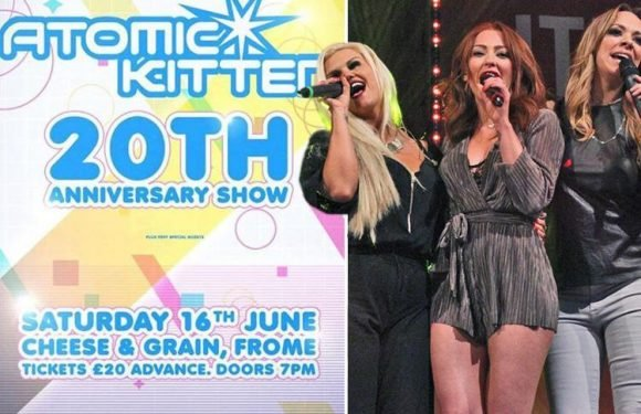 Kerry Katona slams former Atomic Kitten bandmates after they celebrate band's 20th anniversary without her