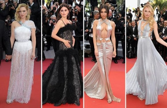 Justin Bieber's ex Chantel Jeffries wows on the red carpet at Cannes alongside Penelope Cruz, Romee Strijd and Lea Seydoux