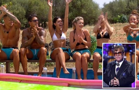 Elton John hits out at Love Island stars calling them 'no marks'