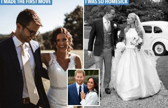 Real-life Meghan Markles reveal what it's like to marry a British guy… from learning rude slang to making the first move