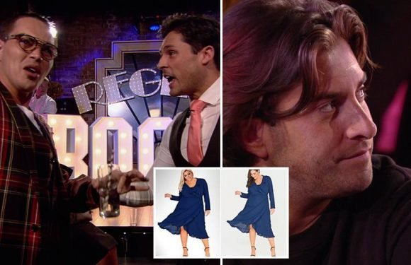 Watch the moment Towie's Bobby Norris has to be held back from James Argent during furious row after he jokes about Gemma Collins photoshopping herself onto model's body