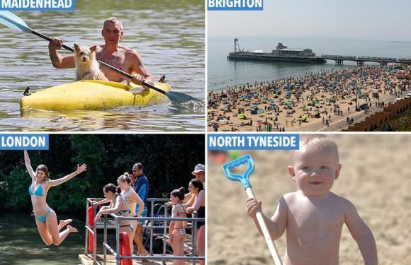 UK Bank Holiday Monday weather set to be hottest EVER with sizzling 28C temperatures