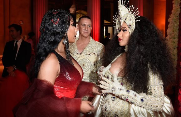 What Feud? Nicki Minaj and Cardi B Chat Up a Storm at the Met Gala Proving There's Room for 2 Queens of Rap
