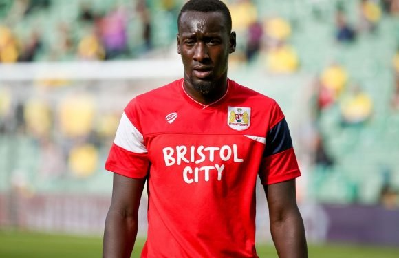 Bristol City 'extremely disappointed' as striker Famara Diedhiou banned for six games after spitting incident during Birmingham clash