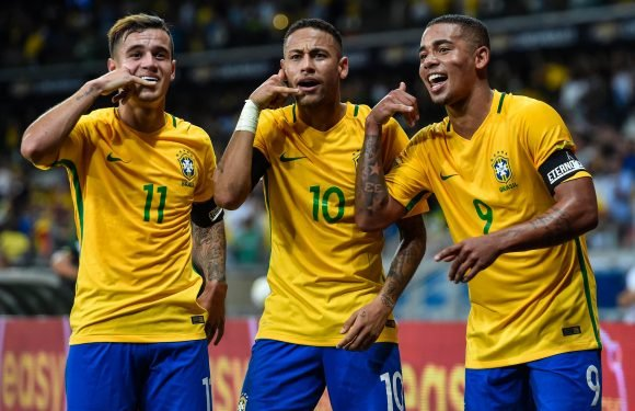 Brazil announce World Cup 2018 squad featuring Neymar, Philippe Coutinho, Gabriel Jesus and Roberto Firmino