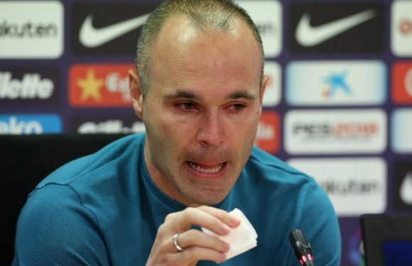 Barcelona legend Andres Iniesta 'offered deal worth £71m over three years' to join Chinese Super League side Chongquing