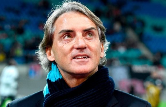Former Manchester City boss Roberto Mancini to be named Italy manager as 'agreement is reached' with Zenit St Petersburg