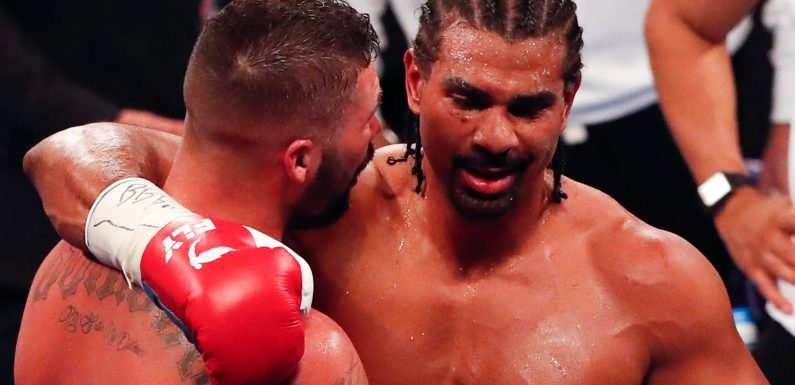 David Haye 'to retire from boxing' after devastating loss in Tony Bellew rematch