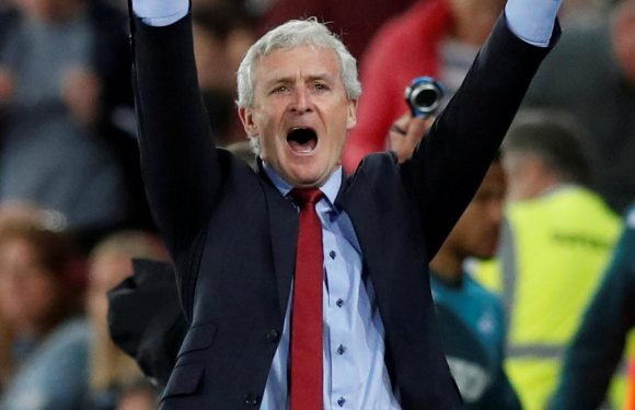 Mark Hughes signs three-year deal to stay on as Southampton manager