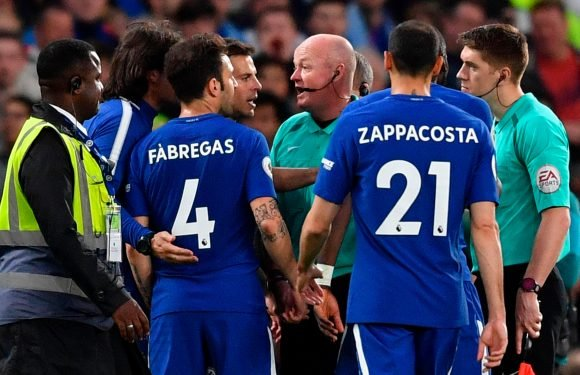 Chelsea fined £20,000 for failing to control players during Huddersfield draw