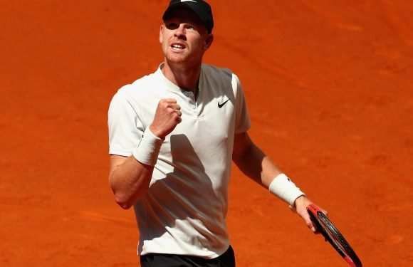 Kyle Edmund beats David Goffin to reach Madrid Open quarter-finals as he moves to career high