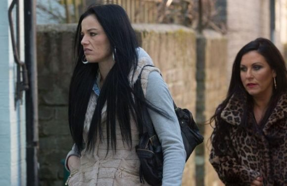 EastEnders' Hayley and Kat Slater clash as her homeless secret is revealed