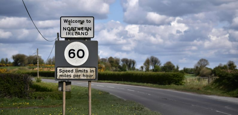Theresa May's government accused of surrendering to terrorists over Irish border