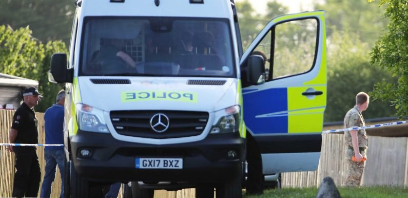 Lorry driver arrested after police find grenades and weapons attached to vehicle with magnets