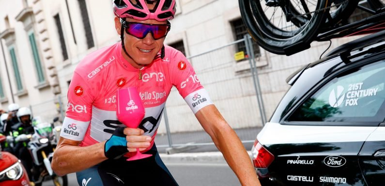 Chris Froome wins Giro d'Italia to take place in cycling history
