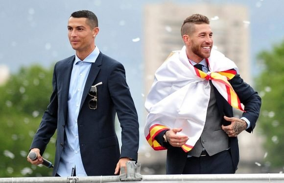 What Sergio Ramos told Cristiano Ronaldo in changing room after superstar hinted at Real Madrid exit