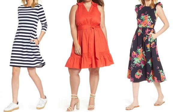8 Gorgeous Dresses from Nordstrom's New 1901 Line That Are Perfect for Spring