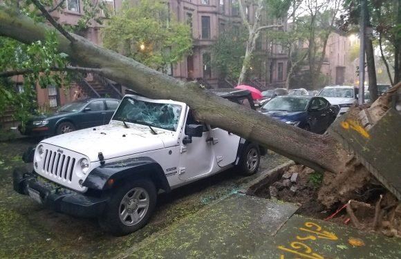 Monster storm pounds NYC
