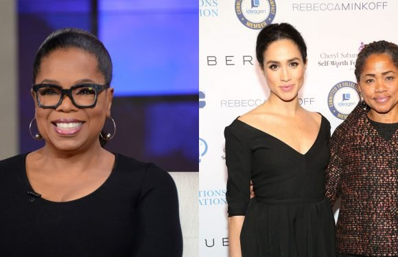 Meghan Markle's Mom and Oprah Winfrey Are Filming an Interview This Week in London