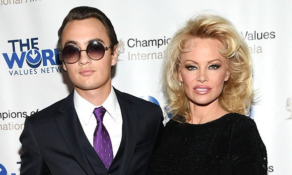 Pamela Anderson Reveals Why She's 'Staying Out' Of Son Brandon's Drama With Dad Tommy Lee