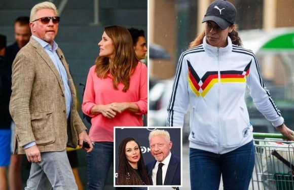 Tennis legend Boris Becker splits from model wife Lilly after nine years of marriage as couple remove their wedding rings