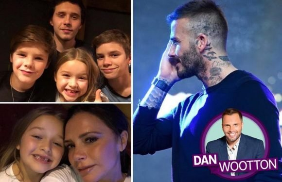 How David and Victoria Beckham use social media and their own children to protect their brand at all costs