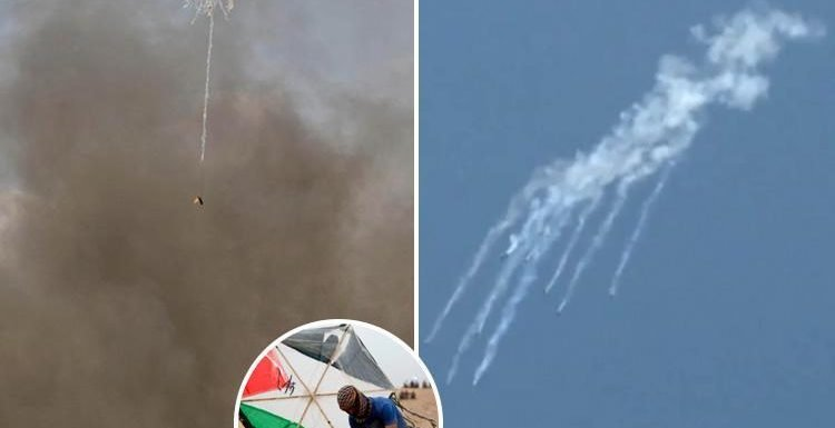 Tear gas drones and Molotov cocktails delivered by kite: The future of protest warfare on display in Gaza