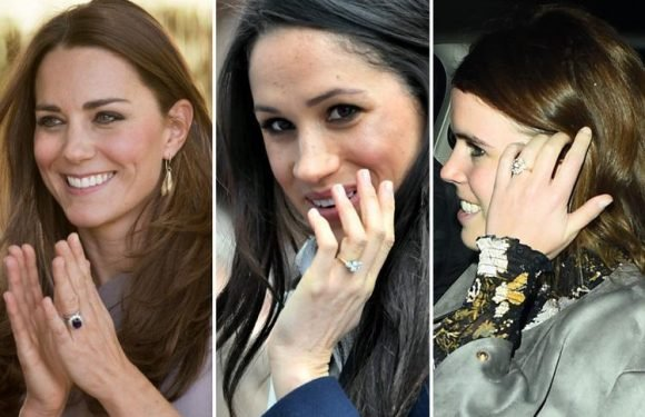 These are the most popular royal engagement rings to copy… and it's not the ones you think